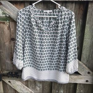 Violet and Claire Boho pullover Blouse